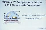 Virginia 8th Congressional District 2012 Democratic Convention