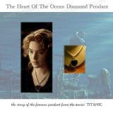Big Sapphire Pendant, The Heart Pendant From The Movie Titanic