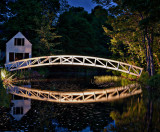 Evening, Somesville Bridge