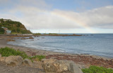 5  May 2011 - Rainbow over Owhiro Bay