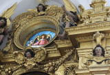 A rather bizarre church interior - Freising, Germany