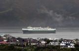 28 October 2011 - the Falstaff arrives in Wellington