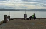 1 January 2012 - Sitting on the Wharf Fishing