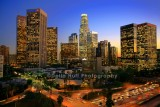 Downtown Los Angeles in Twilight
