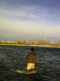 March 3, 2012 --- Bow River, Alberta