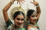 Backstage at the Indian Dance Performance