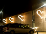 Hearts at the mall