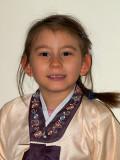 2007-01-11 Nicole in Hanbok