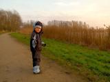 2008-01-13 Oliver on a walk