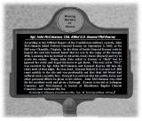 Marker Of Sgt. CSA John McCrimmon