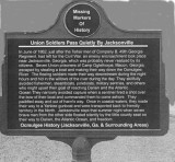 Union Soldiers Escaped On A Boat In Ocmulgee River