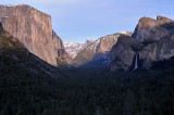 Tunnel View Afternoon Light