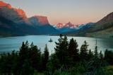 Lake Saint Mary Sunrise