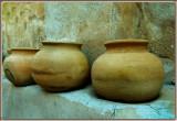 Four Clay Pots