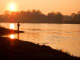 Fisherman on the Elbe #1