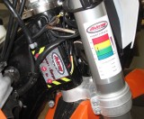 KTM 450/500XCW and EXC tuner mount