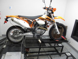 KTM 500EXC with JDJetting EFI Tuner