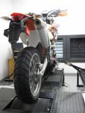 350EXC-F with Motard Wheel