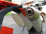 350EXC-F Stock Silencer Screen