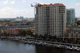 2011 - Coast Guard MH-60J #CG-6036 on a port and harbor patrol just south of downtown Tampa