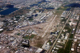 2011 - Ft. Lauderdale Executive Airport landscape aerial stock photo