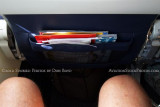 2012 - the leg room and new seat back pocket onboard Southwest Airlines B737-7H4 N220WN aviation airline stock photo