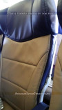 2012 - the new thinner seats onboard Southwest Airlines B737-7H4 N220WN aviation airline stock photo