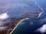 2012 - Palm Beach, Lake Worth Inlet and Singer Island aerial landscape stock photo