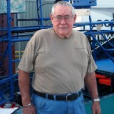 (Rest in Peace, Bud)  Bud Marquis, The Angel of the Everglades and his famous airboat, photo #2869