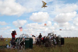 35th Anniversary of Eastern Airlines flight 401 crash memorial service - ultralight aircraft flyover of crash site, photo #2912