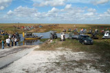 35th Anniversary of Eastern Airlines flight 401 crash memorial service - airboats returning from crash site, photo #2932