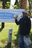 The first Challenge finisher at Piney Point!
