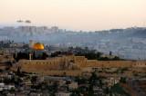 Jerusalem, Temple Mount at sunrise