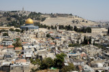 Jerusalem with Dome of the Rock and old city