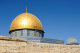 Dome of the Rock with Al-Aqsa Mosque om far right