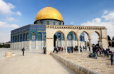Dome of the Rock with arch