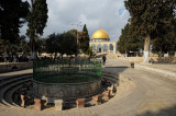 Temple Mount, view of Dome of the Rock