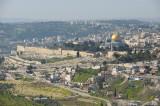 Jerusalem as seen from Mt. Scopus