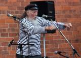 Hull sea shanty festival, Ruscadors pub, outside stage.