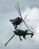 Royal Navy Lynx pair