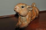 Burl Jones Bronze Rabbit