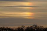 Sundog at Sunset