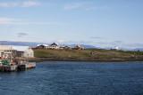 Arriving Flatey Island.