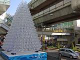 Recycling Art  (Water Bottles)