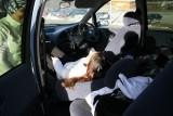 Day #1 - Injury #1 - Danae closes finger in car door