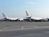 Air France 747's at Gatwick !!