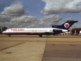 at LGW in 1992...B727s are no longer in the fleet now.