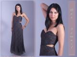fashion designer Dee Izmail - London model Ania Kondracka