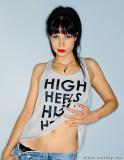 Fiona York  has high heels and high hopes