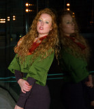 Irina Sharapovich - twilight shoot